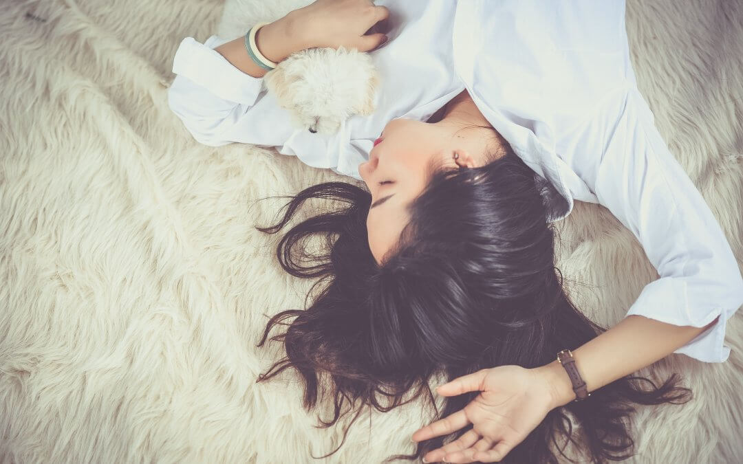 Slapen met een haarwerk: liever niet